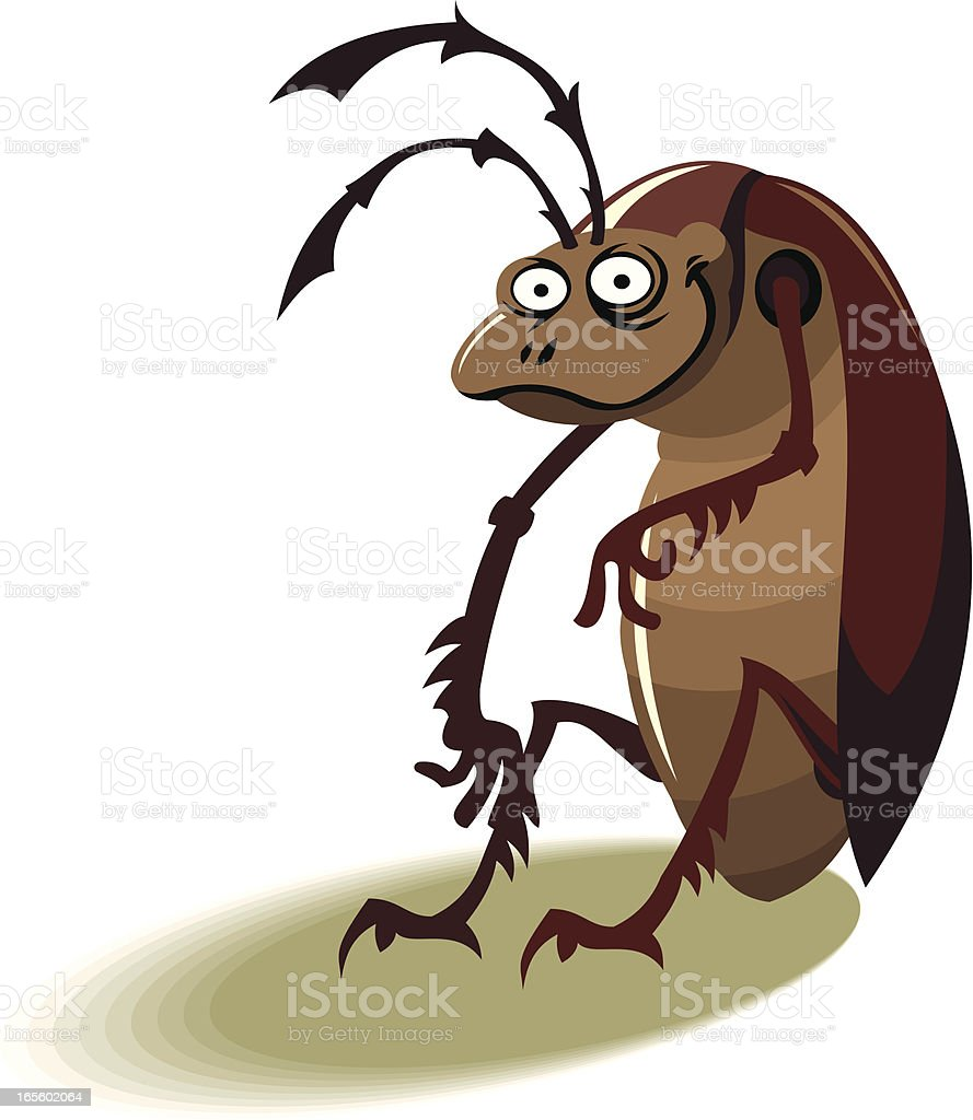 cockroach royalty-free stock vector art