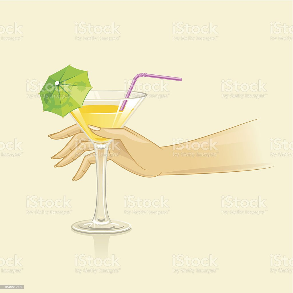 Cocktail royalty-free stock vector art