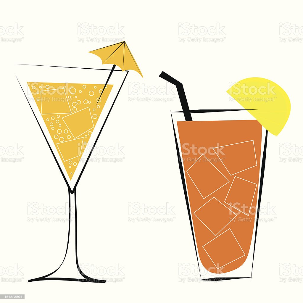 Cocktails royalty-free cocktails stock vector art & more images of alcohol