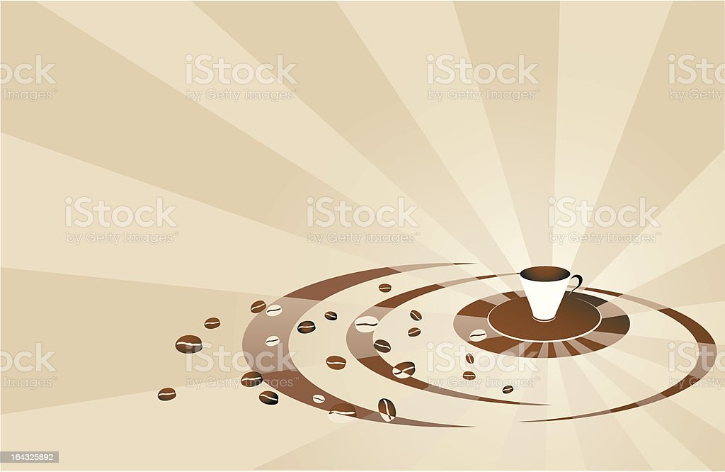 coffee  brown background royalty-free coffee brown background stock vector art & more images of abstract