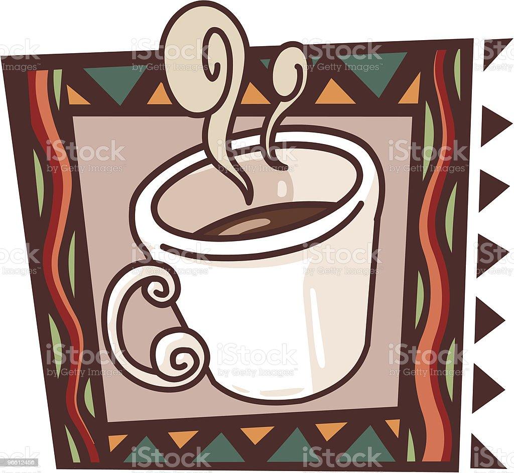 Ícone de Café - Royalty-free Almoço arte vetorial