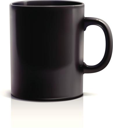 Кружка Для Кофе — стоковая векторная графика и другие изображения на тему Без людей