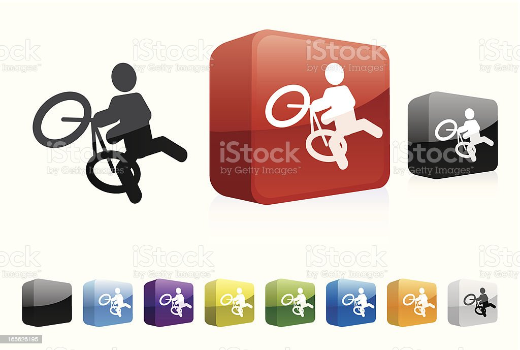 BMX | 3D Collection royalty-free stock vector art