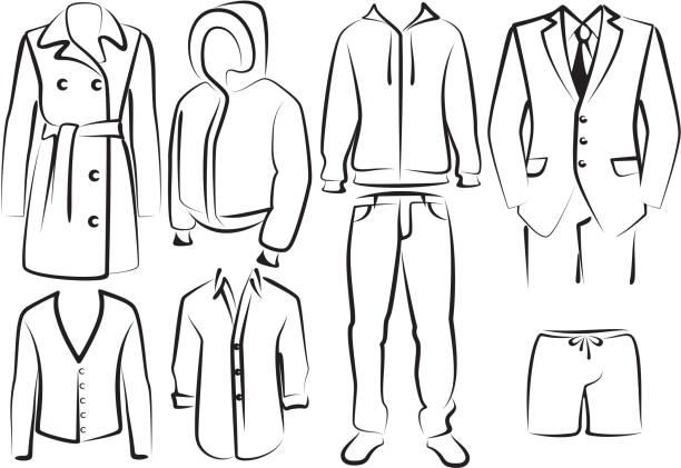 Blazer Jacket Clip Art, Vector Images & Illustrations - iStock