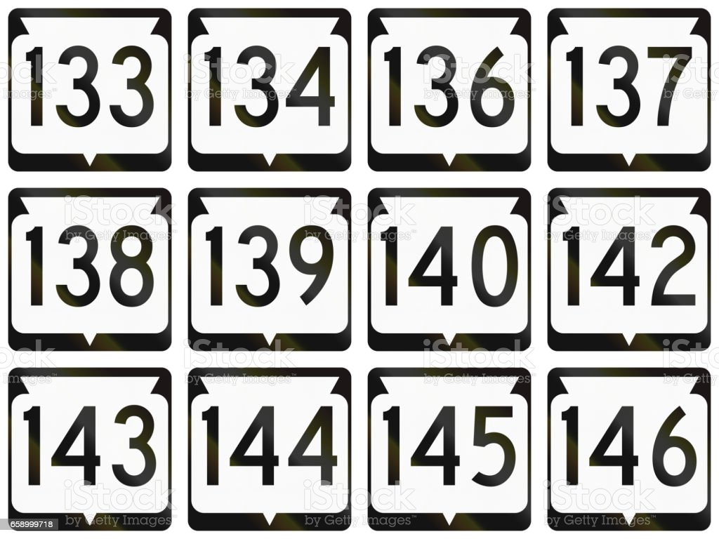 Collection of Wisconsin Route shields used in the USA royalty-free collection of wisconsin route shields used in the usa stock vector art & more images of collection