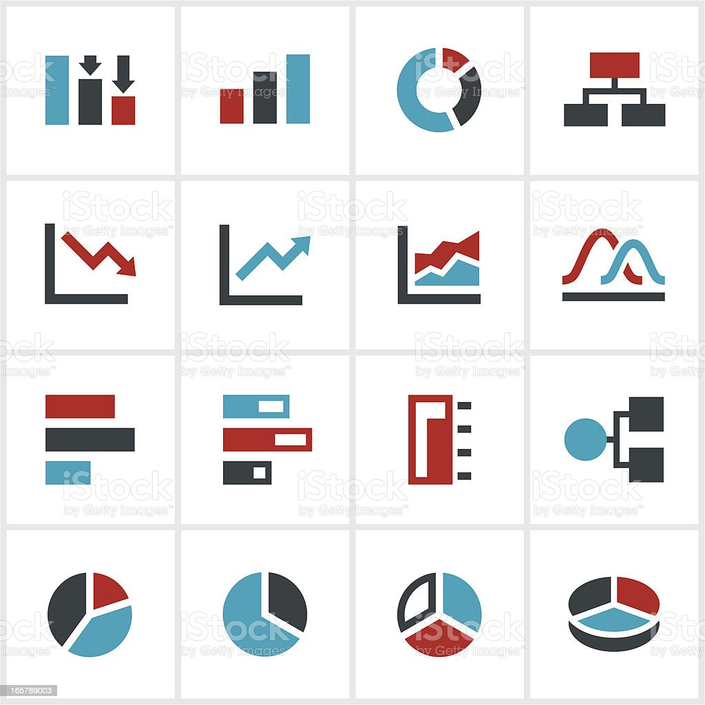 Color chart and graph icons stock vector art more images of bar color chart and graph icons royalty free color chart and graph icons stock vector art geenschuldenfo Image collections
