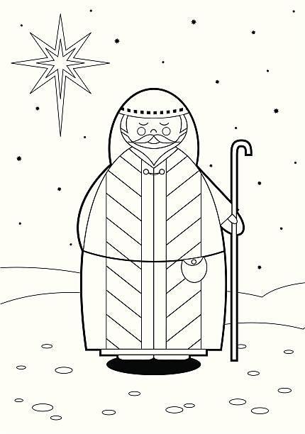 Best Shepherd Staff Illustrations, Royalty-Free Vector