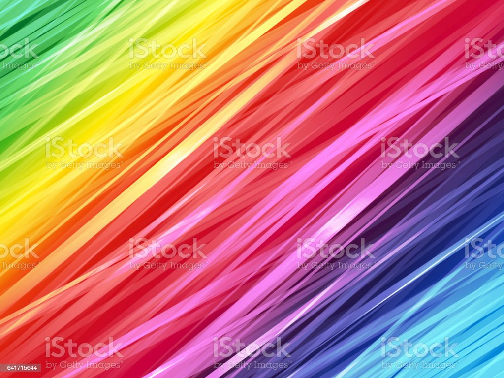 color rainbow striped background vector art illustration