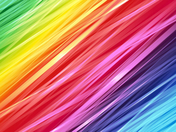 ilustraciones, imágenes clip art, dibujos animados e iconos de stock de fondo de arco iris rayado de color - fondos coloridos