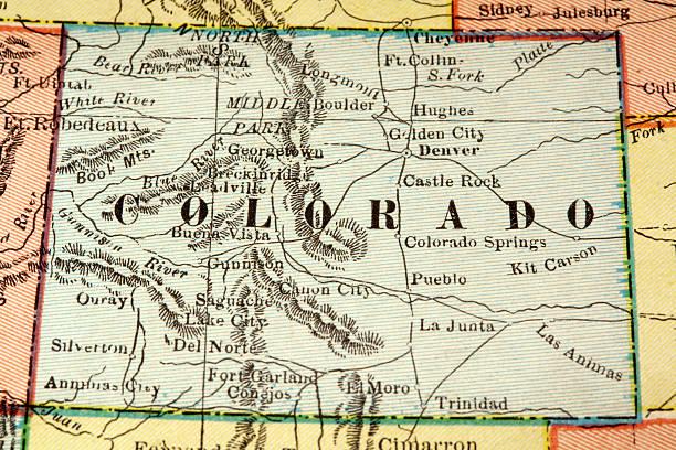 Colorado vector art illustration