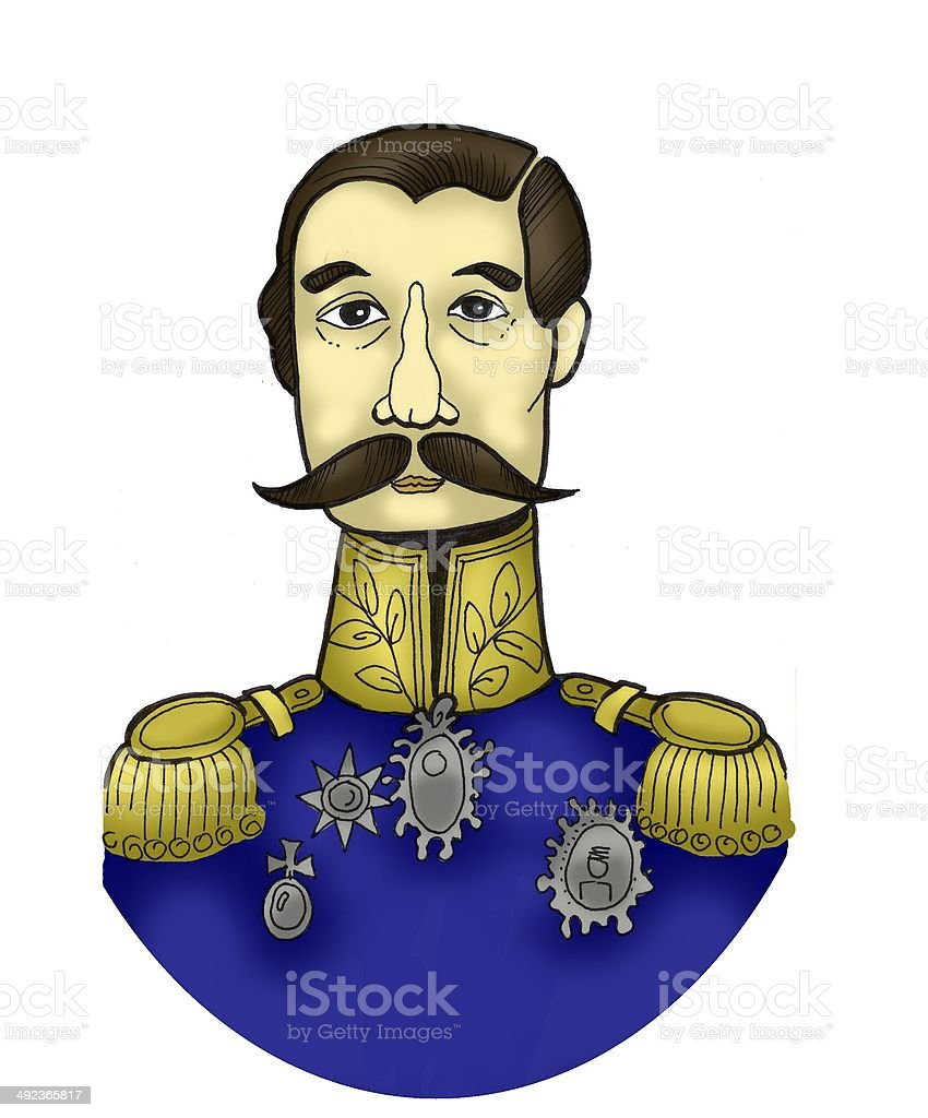Colored portrait of a man royalty-free colored portrait of a man stock vector art & more images of adults only