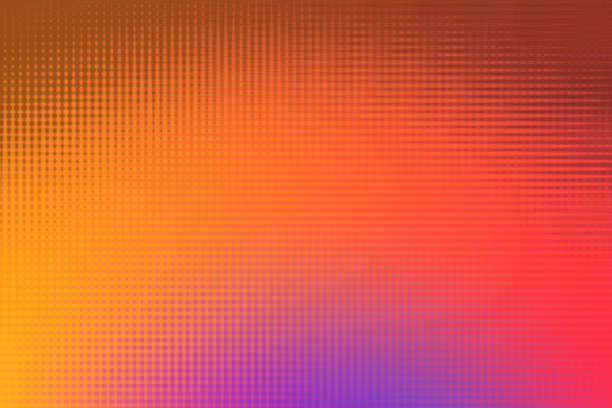 Colorful Abstarct Background with Rainbow Colors vector art illustration