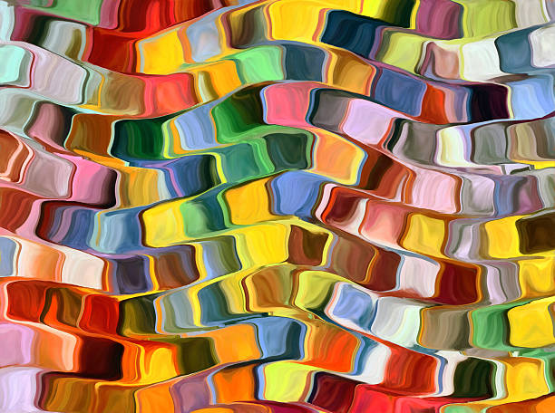 colorful abstract background - modern art stock illustrations