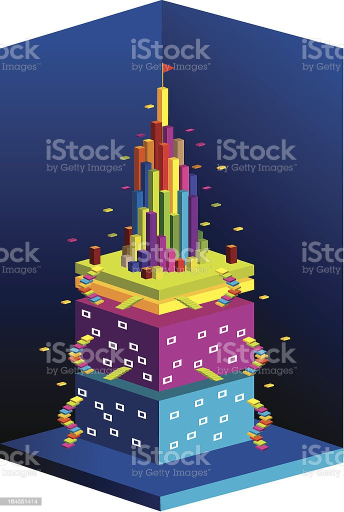 Colorful built structures royalty-free colorful built structures stock vector art & more images of backgrounds