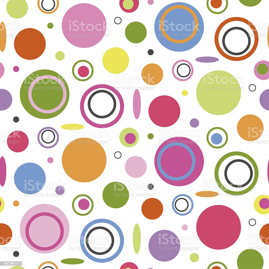 colorful circles background royalty-free colorful circles background stock vector art & more images of 1960-1969