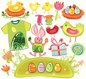 Colorful Easter Set