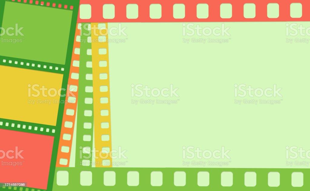 papier streifen von fotografischen filmen