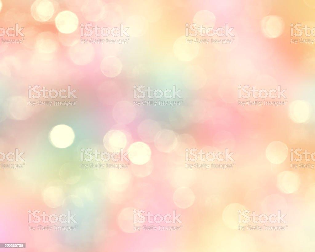 Colorful glitter blurred Easter spring background. vector art illustration