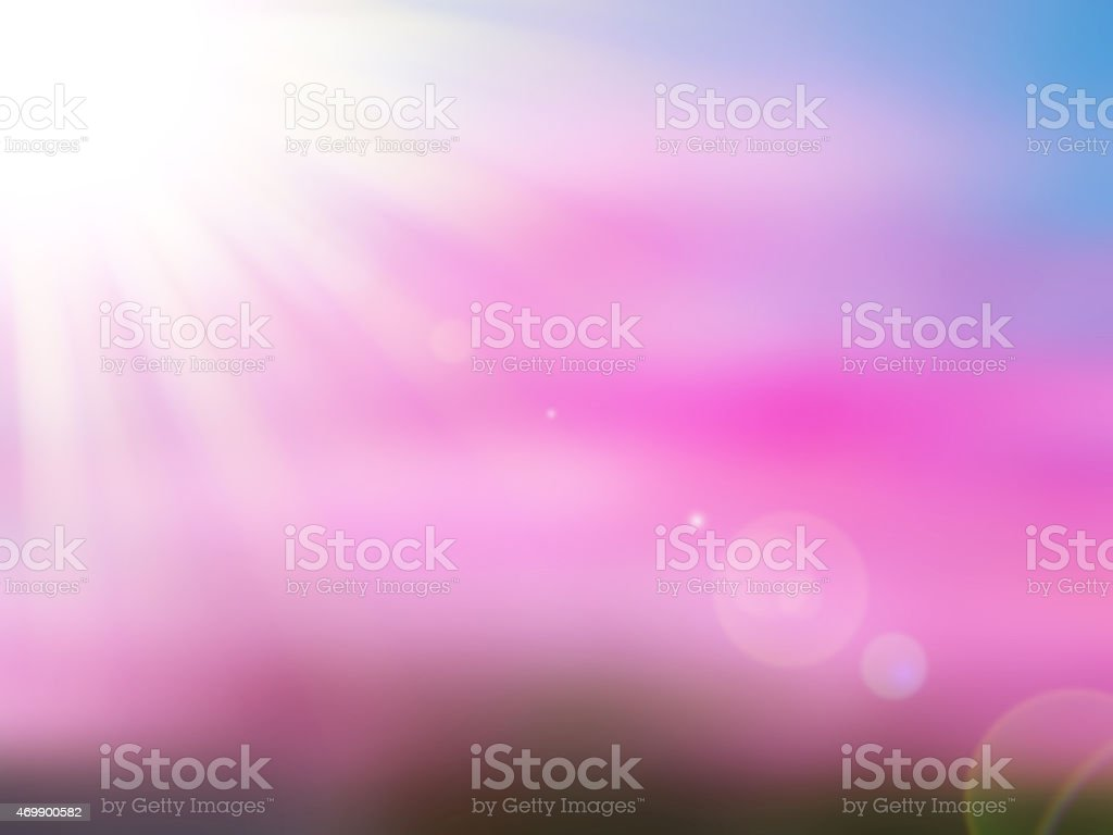 Colorful nature flower ,abstract blur background for web design vector art illustration