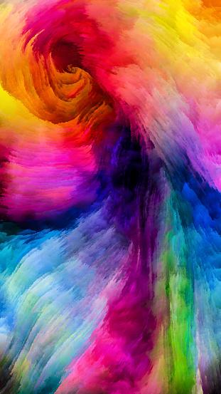 Metaphore De La Peinture Coloree Vecteurs Libres De Droits Et Plus D Images Vectorielles De Abstrait Istock