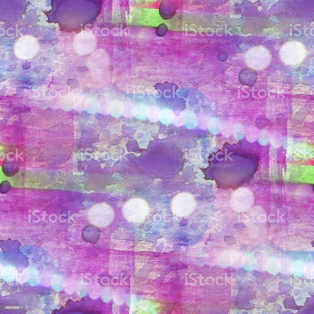 Motif Coloré De Lu0027eau Violet, Vert Texture Peinture Abstraite Le Long Des  Coutures
