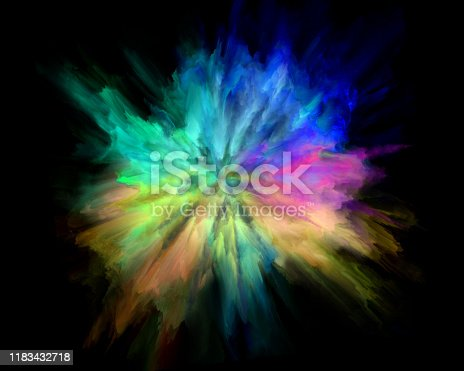 1140073628 istock photo colorful rainbow holi paint color powder explosion isolated black background 1183432718