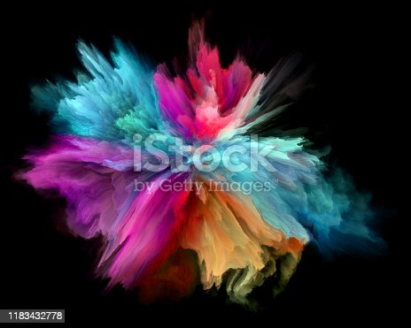 1140073628 istock photo colorful rainbow holi paint color powder explosion isolated black background 1183432778