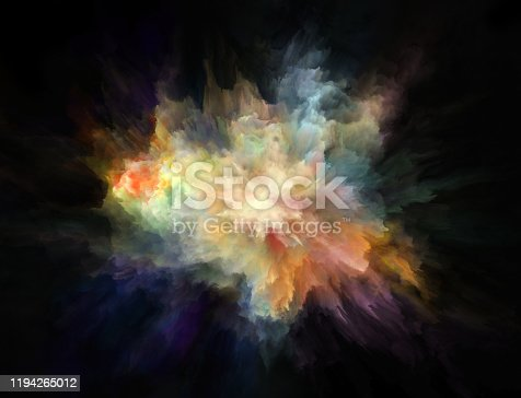 1140073628 istock photo colorful rainbow holi paint color powder explosion isolated black background 1194265012