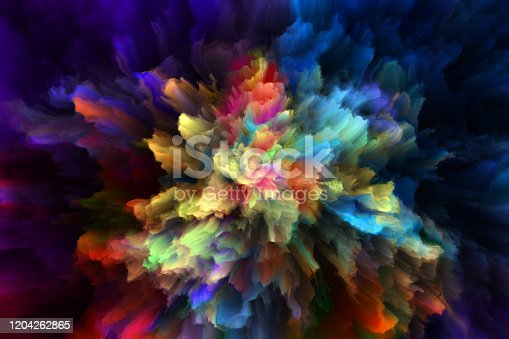 1140073628 istock photo colorful rainbow holi paint color powder explosion isolated black background 1204262865