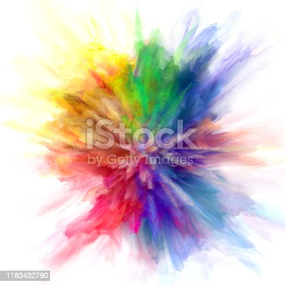 1140073628 istock photo colorful rainbow holi paint color powder explosion isolated white background 1183432790
