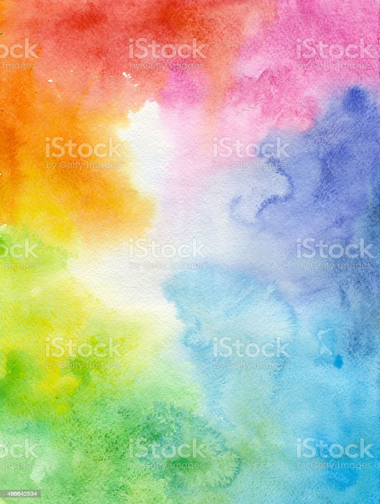 Colorful Watercolor Background Stock Vector Art & More ...