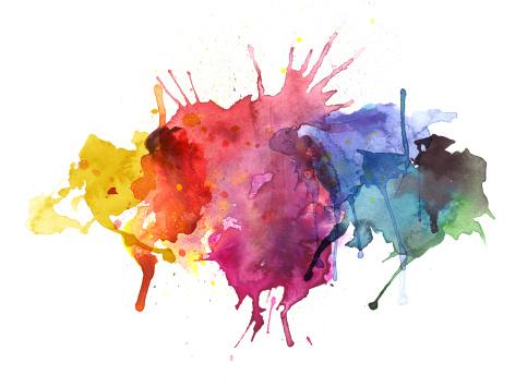 Paint texture stock illustrations