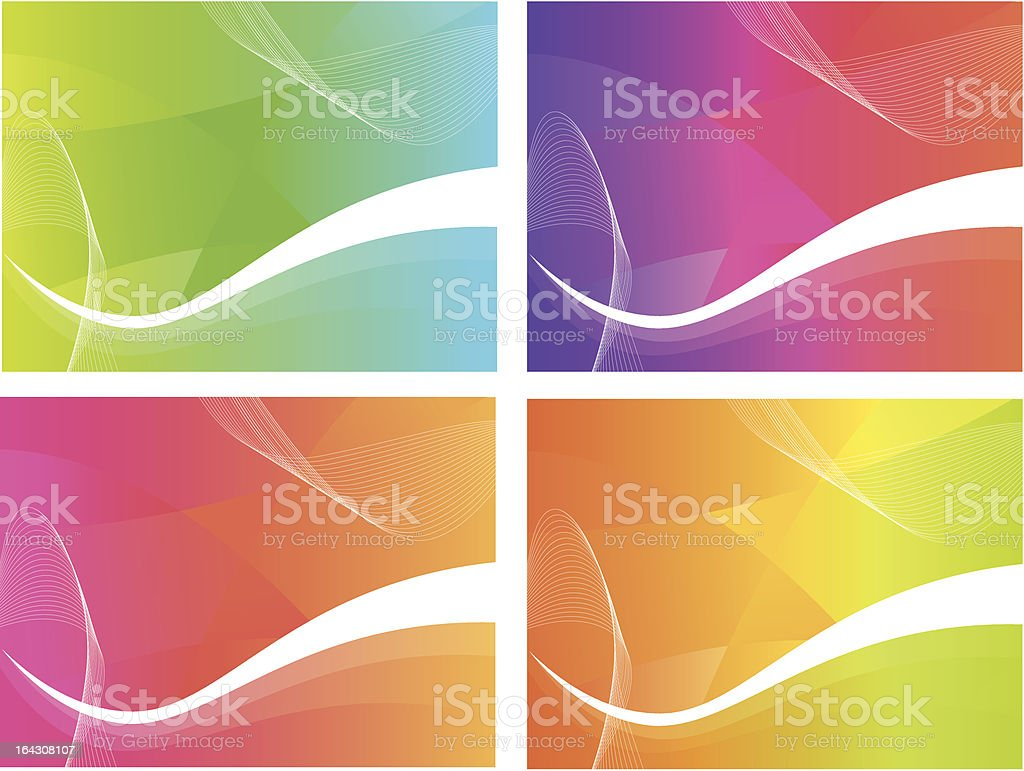 Colour Background Waves royalty-free colour background waves stock vector art & more images of abstract