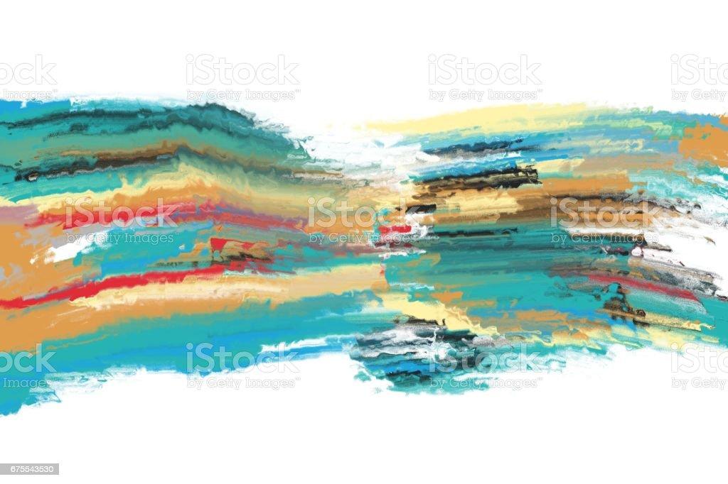 texture de la peinture abstraite coloré texture de la peinture abstraite coloré – cliparts vectoriels et plus d'images de abstrait libre de droits