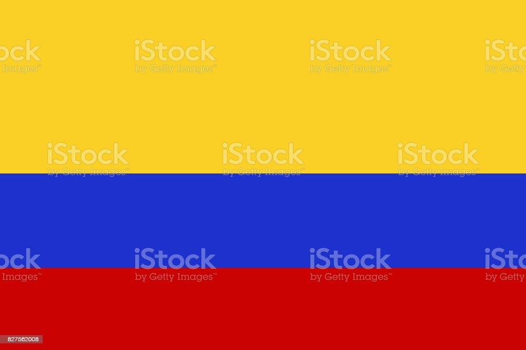 Columbia Nation Flag 3d Illustration Symbol Stock Vector Art More