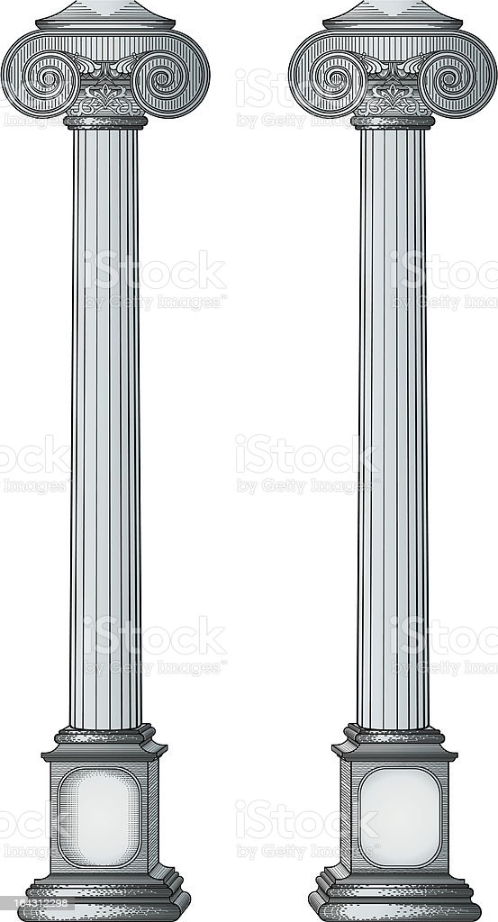 Columns vector royalty-free columns vector stock vector art & more images of antique