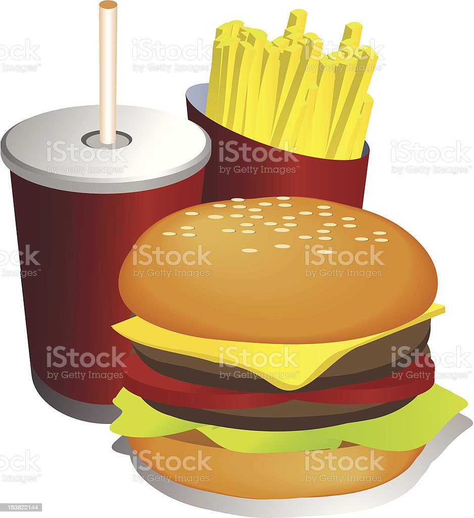 Combo meal illustration royalty-free combo meal illustration stock vector art & more images of clip art