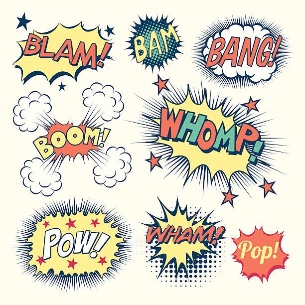 漫画の効果音 - バブルのフォント点のイラスト素材/クリップアート素材/マンガ素材/アイコン素材