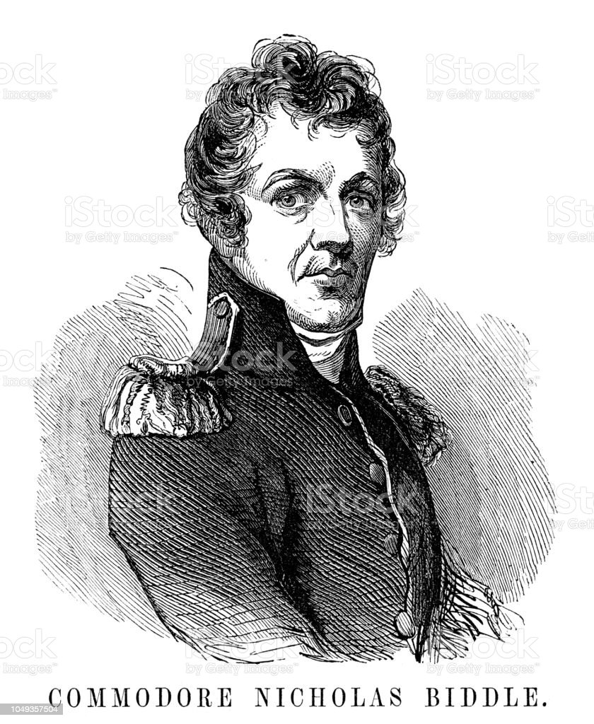 Commodore Nicholas Biddle Stock Illustration Download Image Now Istock