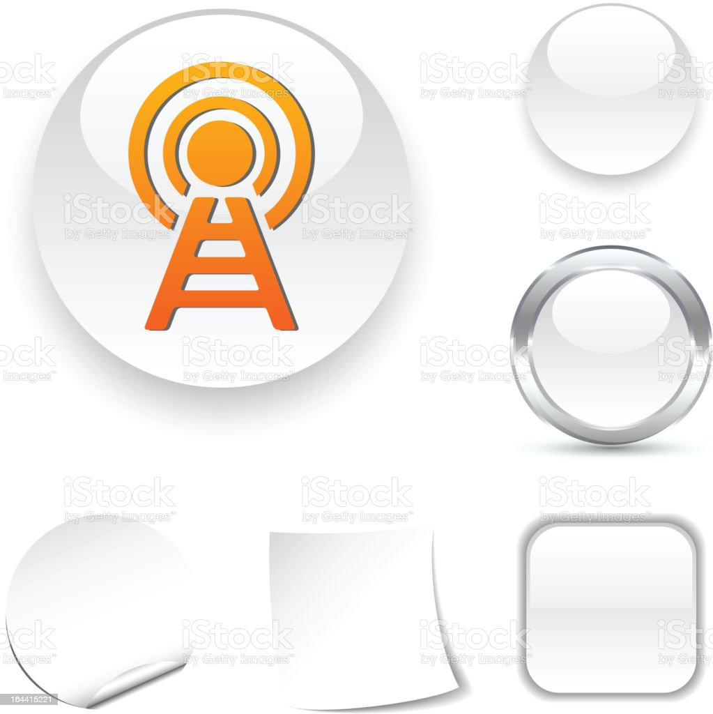 Communication  icon. royalty-free stock vector art