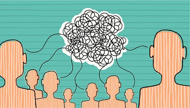 communication is built - communication problems stock illustrations, clip art, cartoons, & icons