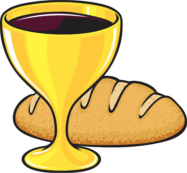communion graphic - communion stock illustrations, clip art, cartoons, & icons