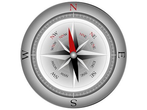 Compass. (Vector)
