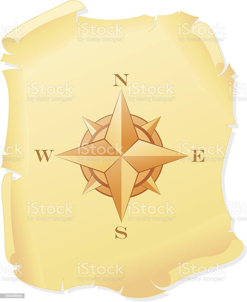 Compass Star royalty-free stock vector art