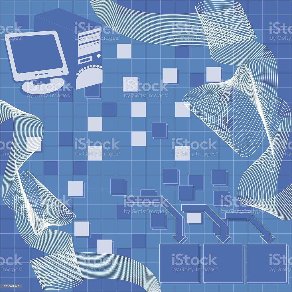 Computer-Hintergrund Lizenzfreies computerhintergrund stock vektor art und mehr bilder von abstrakt