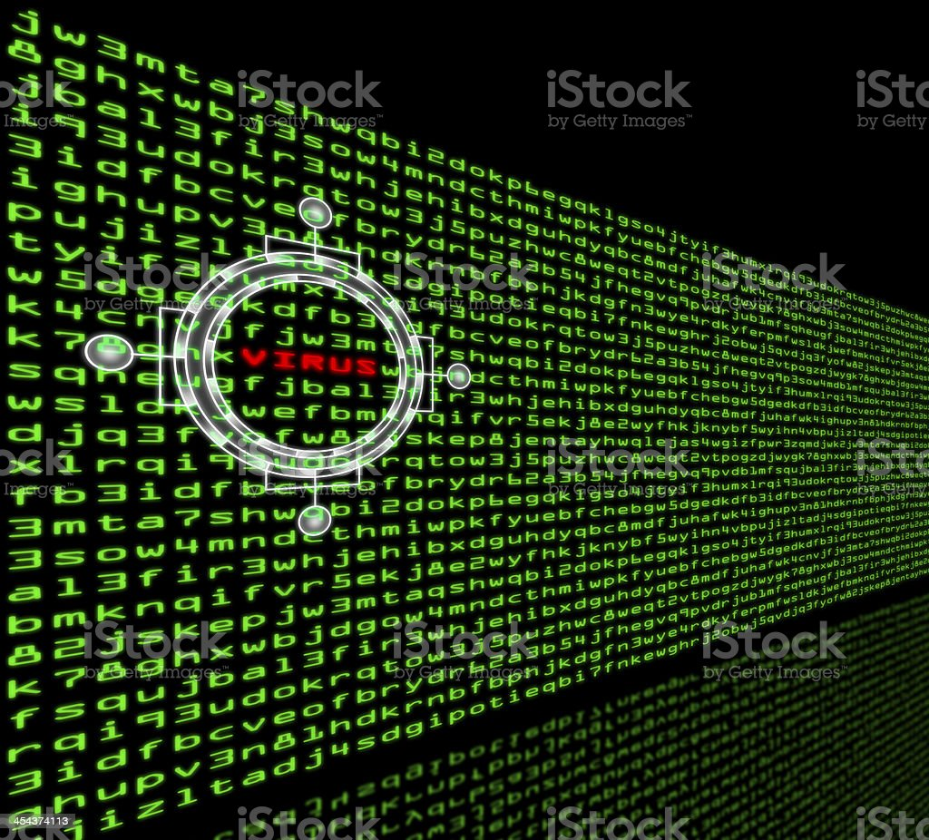 Computer virus detection in a firewall of machine code royalty-free computer virus detection in a firewall of machine code stock vector art & more images of antivirus software