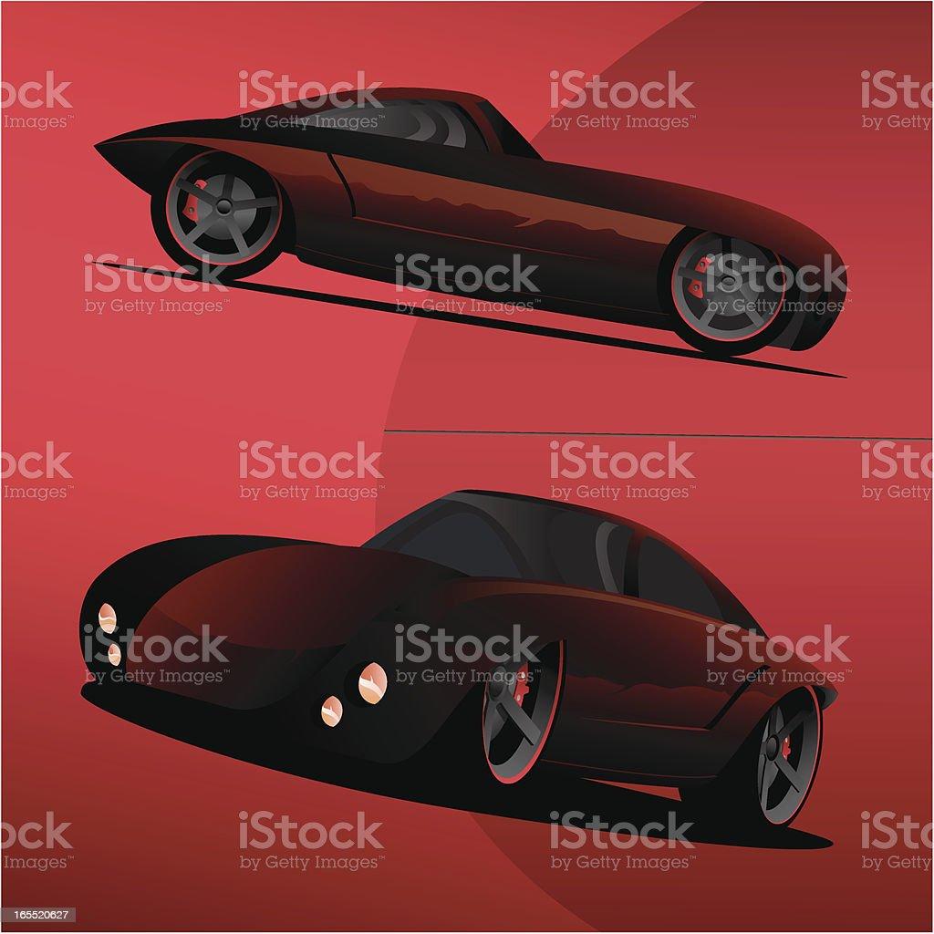 Concept Car royalty-free stock vector art