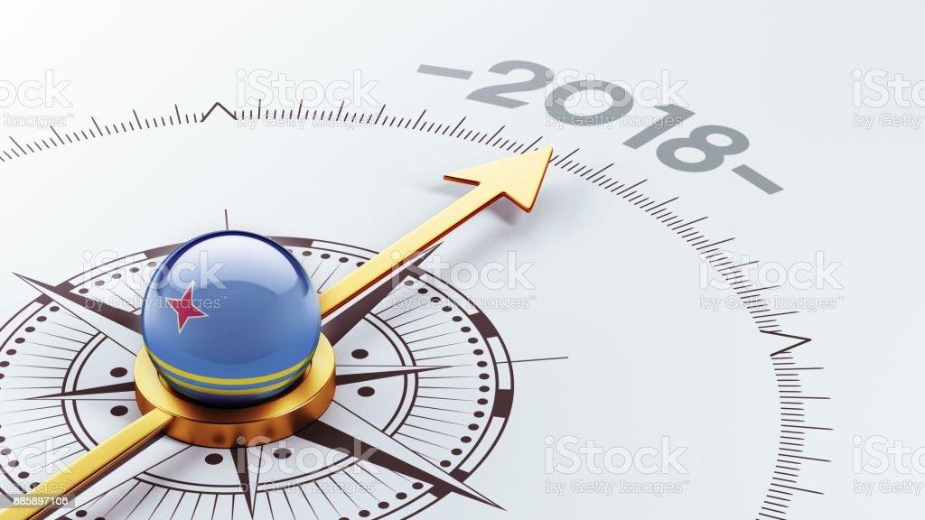 2018 Concept vector art illustration