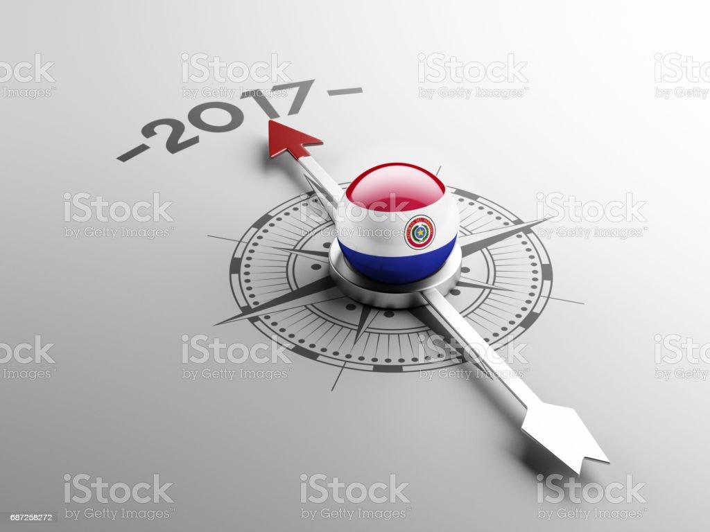 Concepto de 2017 - ilustración de arte vectorial
