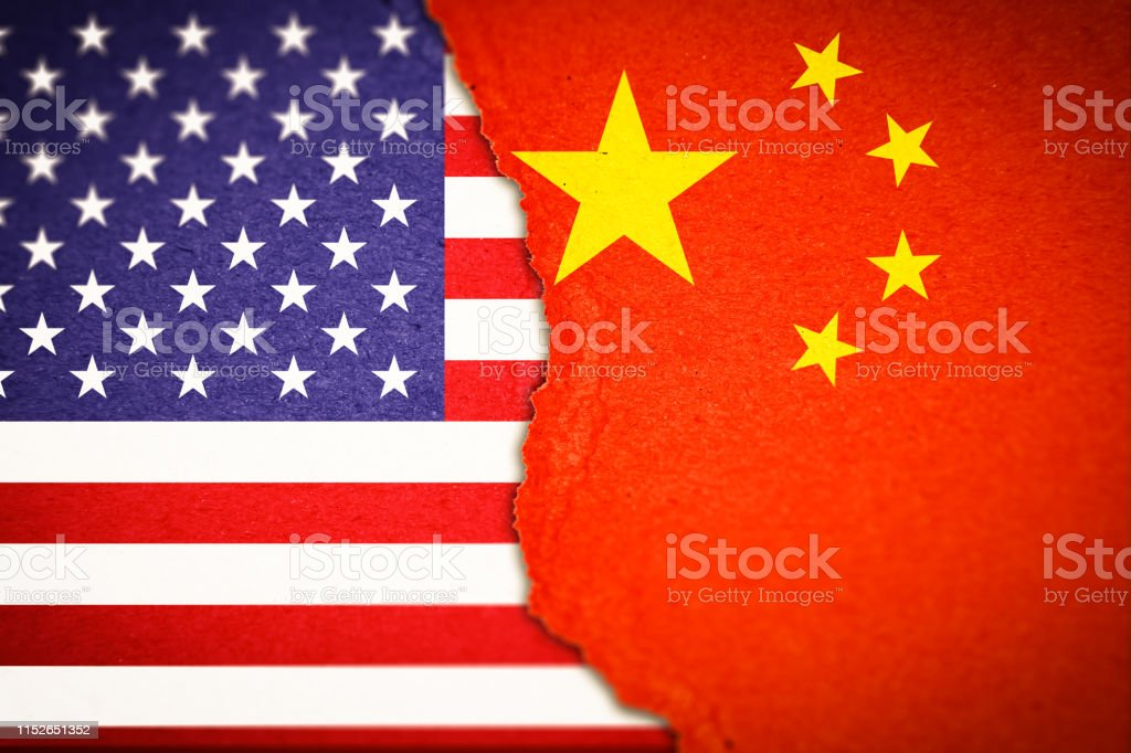 アメリカと中国の対立概念 - アメリカ合衆国のベクターアート素材や ...